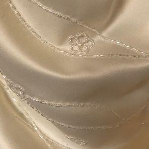 Formal white dress